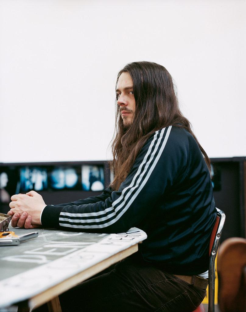 Jonathan Meese Mönchengladbach 2003
