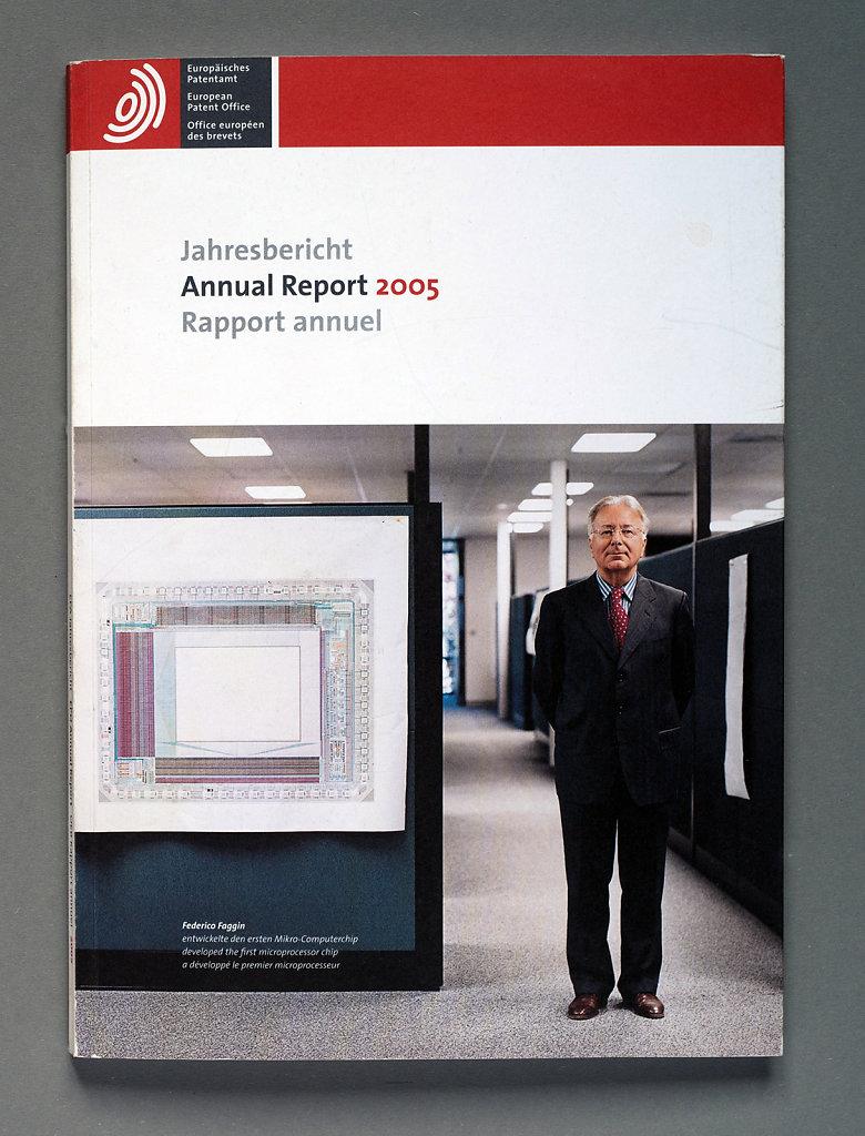 European Patent Office Annual Report 2005 (Federico Faggin)