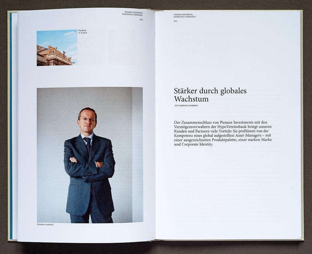 Pioneer Investments Booklet 2006 (Giordano Lombardo, Milano)
