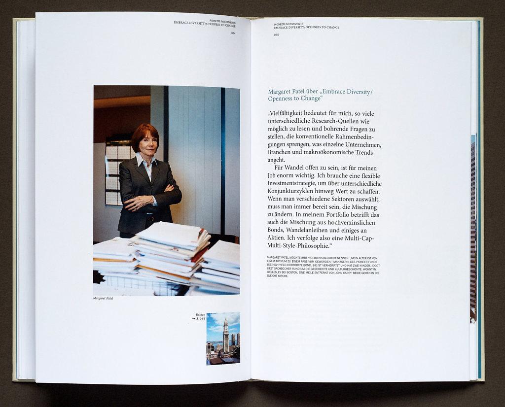 Pioneer Investments Booklet 2006 (Margaret Patel, Boston)