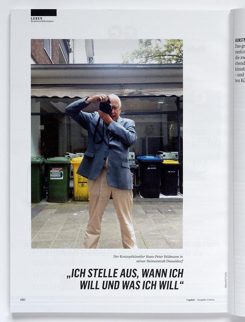 Capital Hans Peter Feldmann Düsseldorf 2014