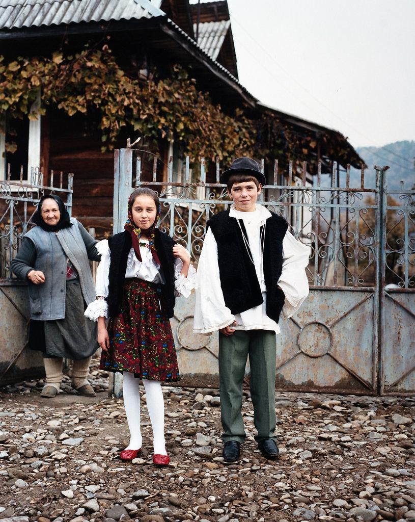 Transilvania/Romania for International Wardrobe 2009