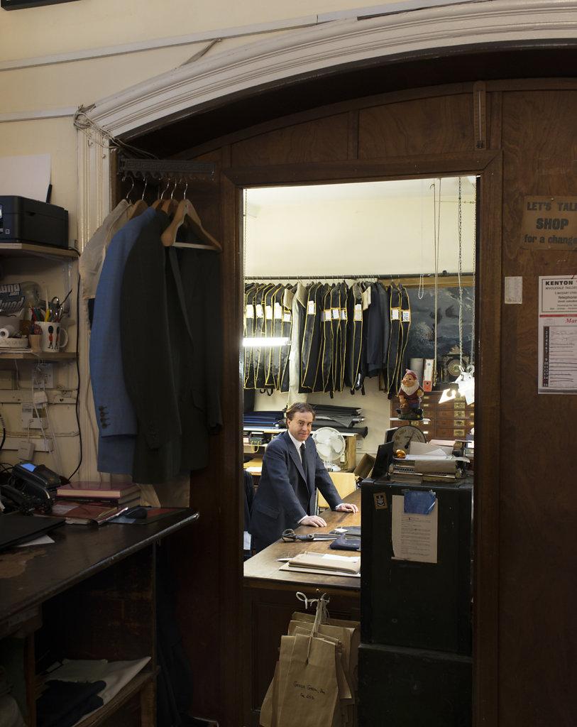 The Weekender David Wilkinson Bespoke Taylor London 2015