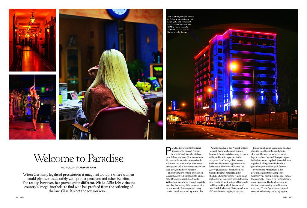 Stella Magazine Prostitution in Germany 2014