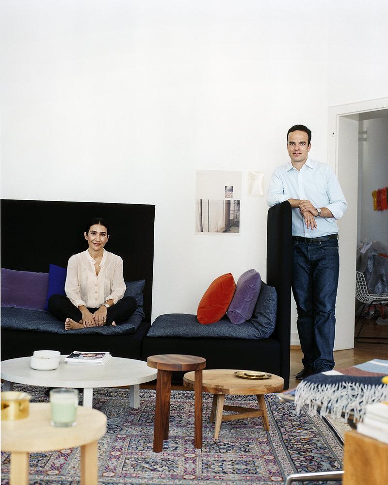 AD Farah Ebrahimi and Philipp Mainzer Frankfurt 2010