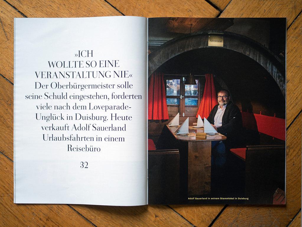 Zeit Magazin Adolf Sauerland Duisburg 2016