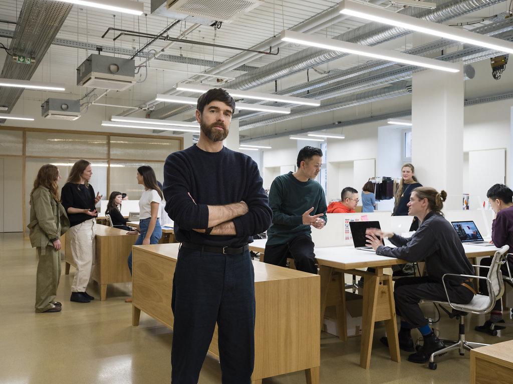 Uniqlo Christophe Lemaire and the Uniqlo U Design Team Paris 2018