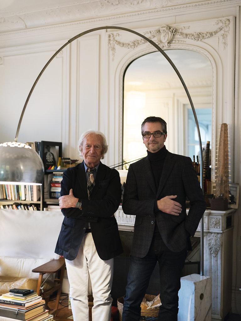 Wallpaper Marc Berthier and Philippe Delhotal Paris 2018