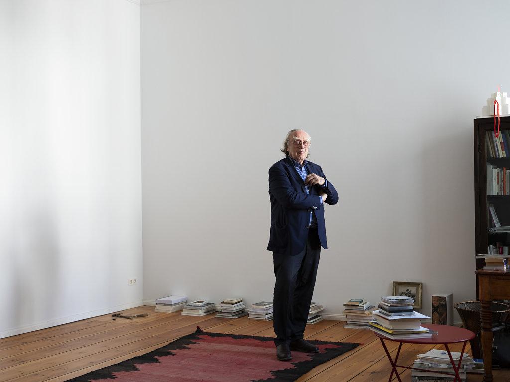 Benjamin Buchloh Berlin 2018