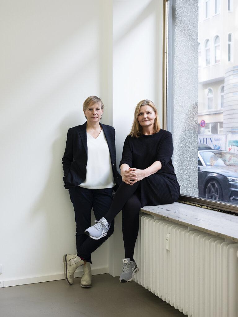 BLAU Magazin Nicole Delmes / Susanne Zander Cologne 2018