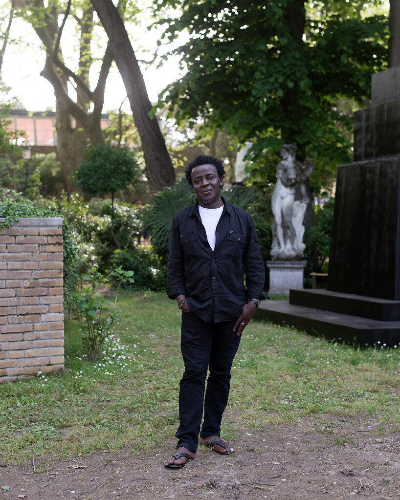John Akomfrah Venice 2015 for BLAU Magazine