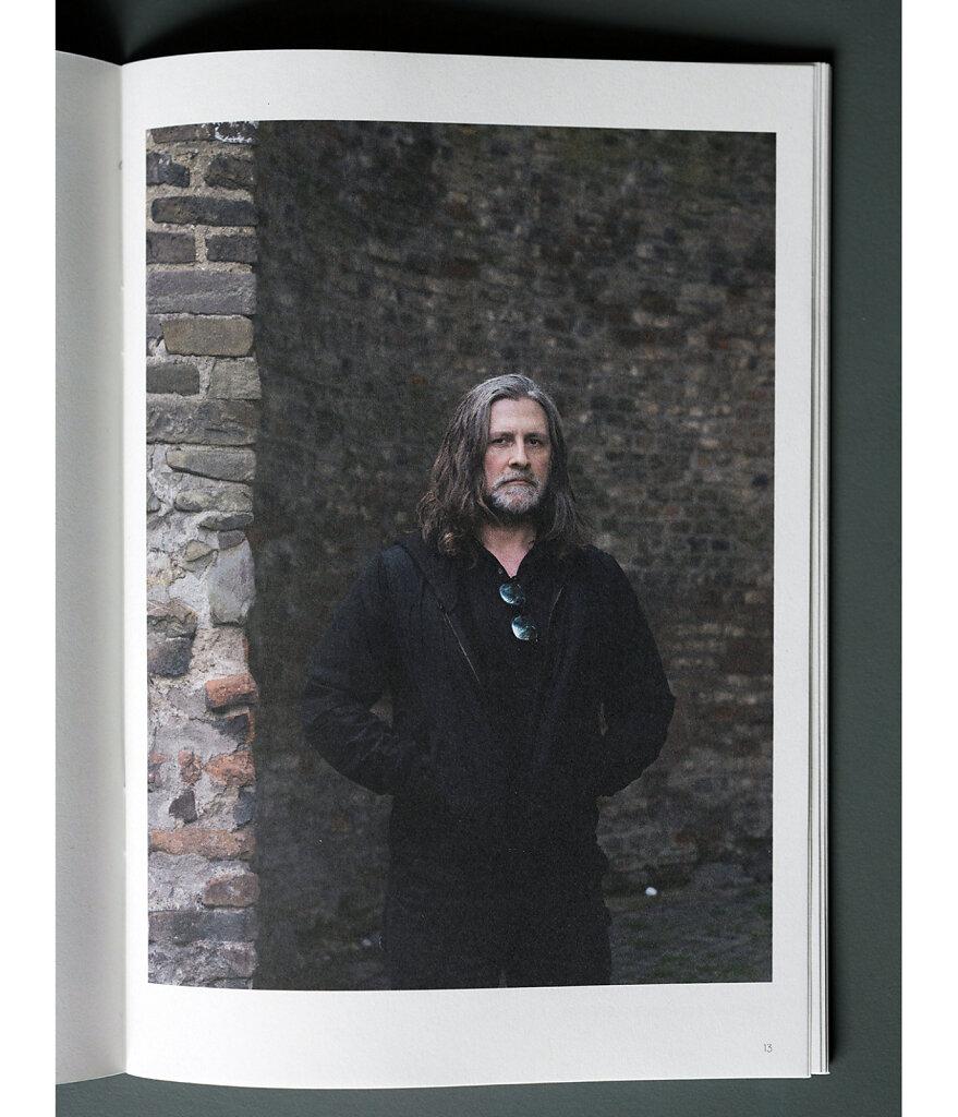 Cahier #44 Wade Guyton Cologne 2019