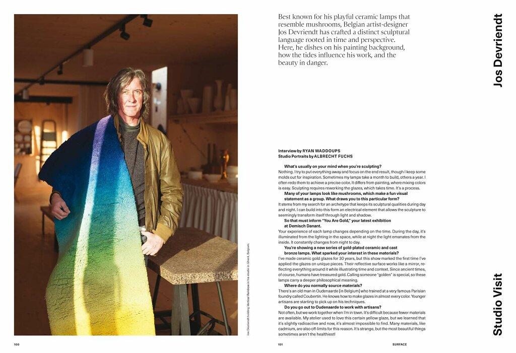 Surface Magazine Jos Devriendt Gent