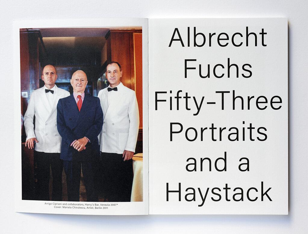 Fifty-Three Portraits and a Haystack Simonett&Baer 2020
