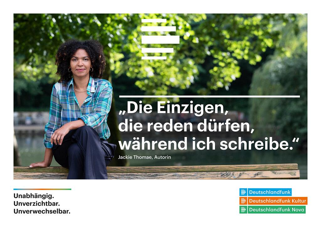 Jackie Thomae Berlin 2020 for Deutschlandfunk