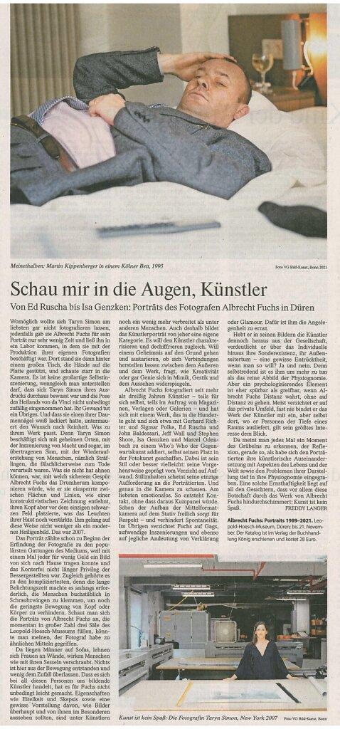 Frankfurter Allgemeine Zeitung 28.9.2021